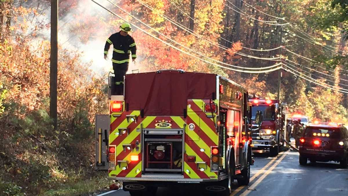 Rocky Ridge brush fire