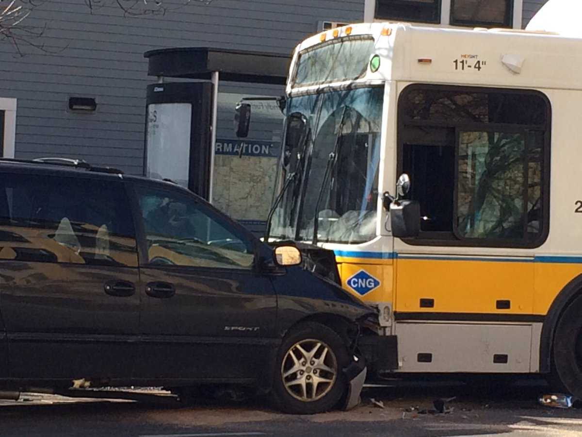 Injuries Reported Following Dorchester Crash Involving MBTA Bus