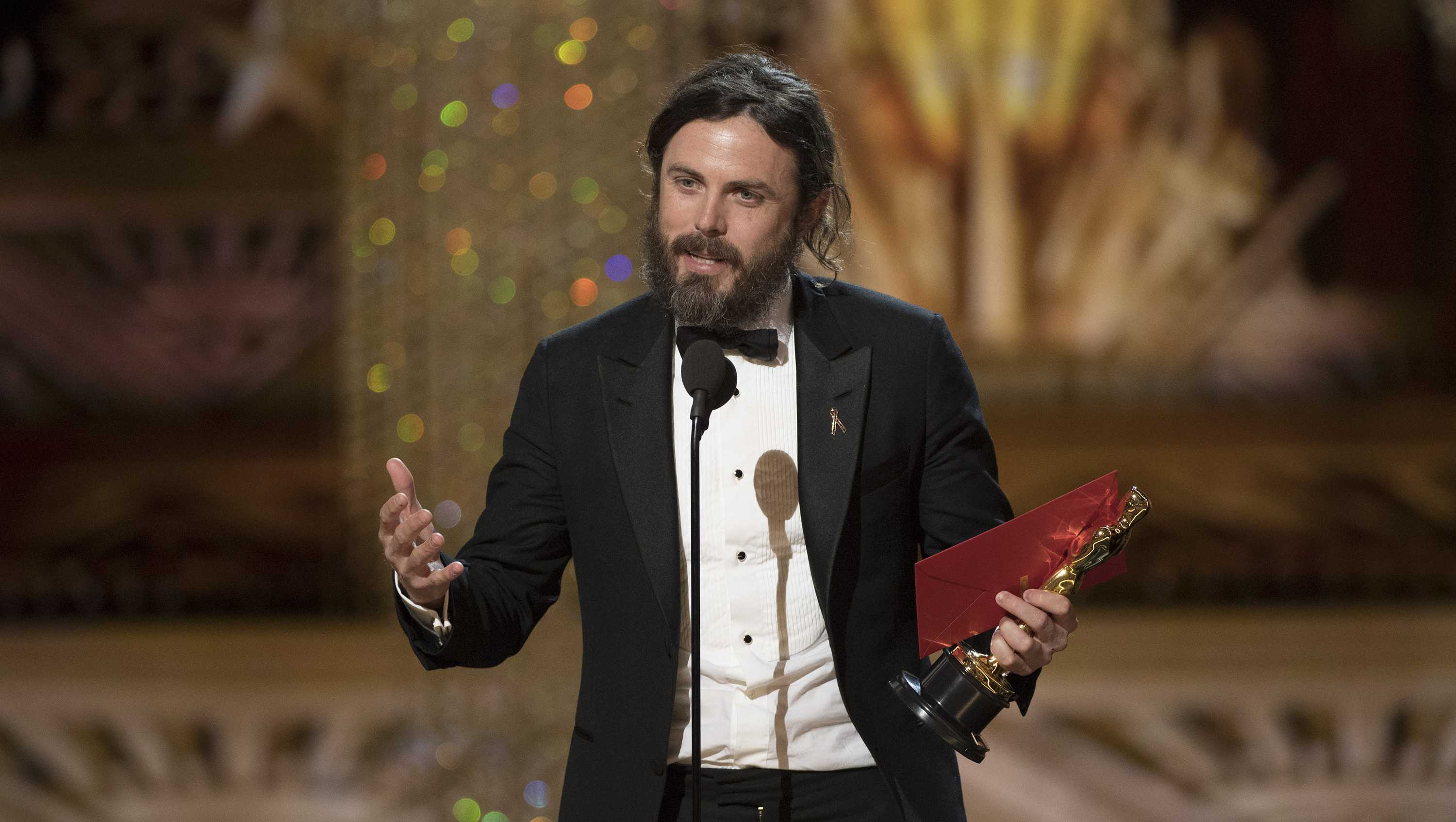 Image result for casey affleck oscar