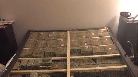 What Nearly $20 Million Stashed Under A Mattress Looks Like