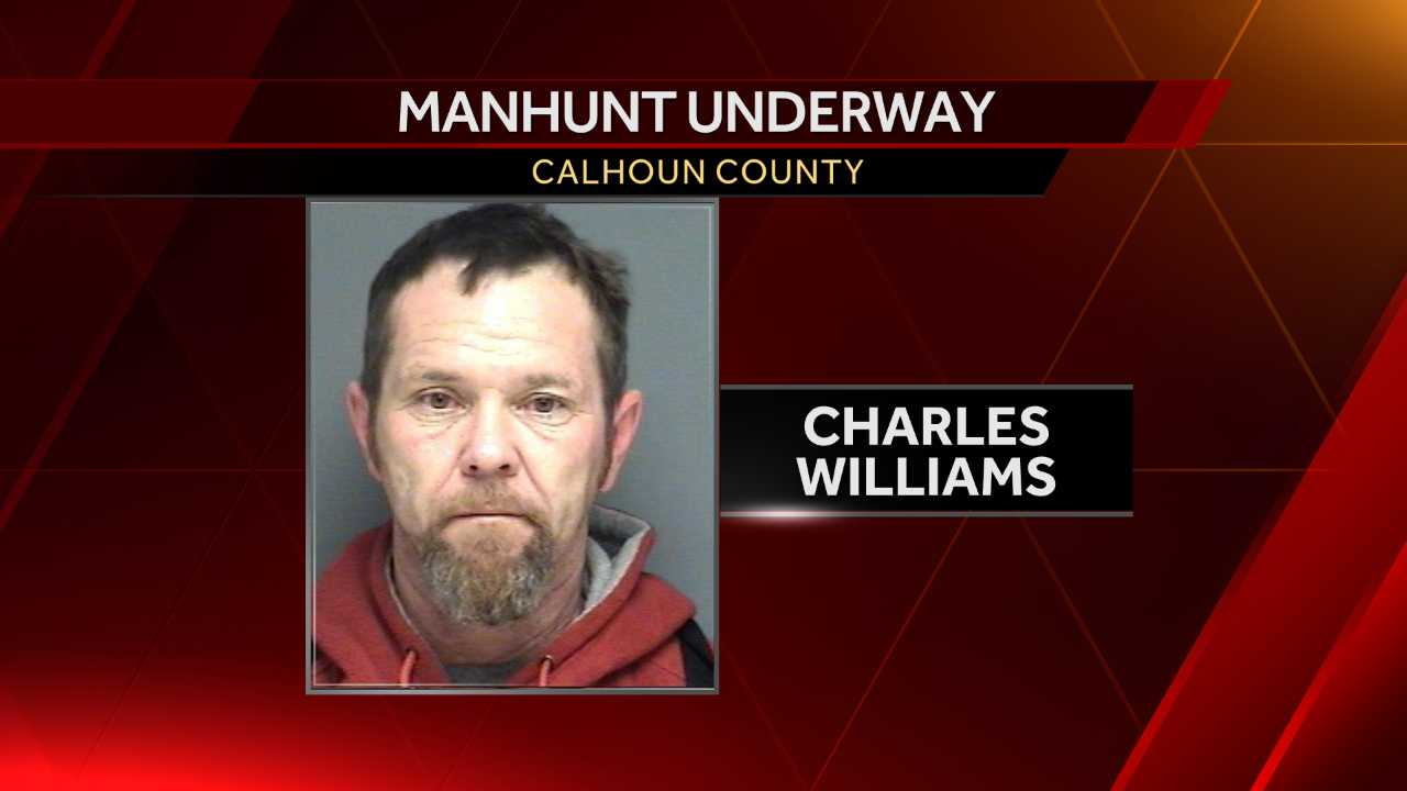 ACTIVE: Armed, risky man fires shots at officers in Calhoun County