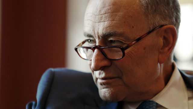 Senate Minority Leader Chuck Schumer of N.Y.