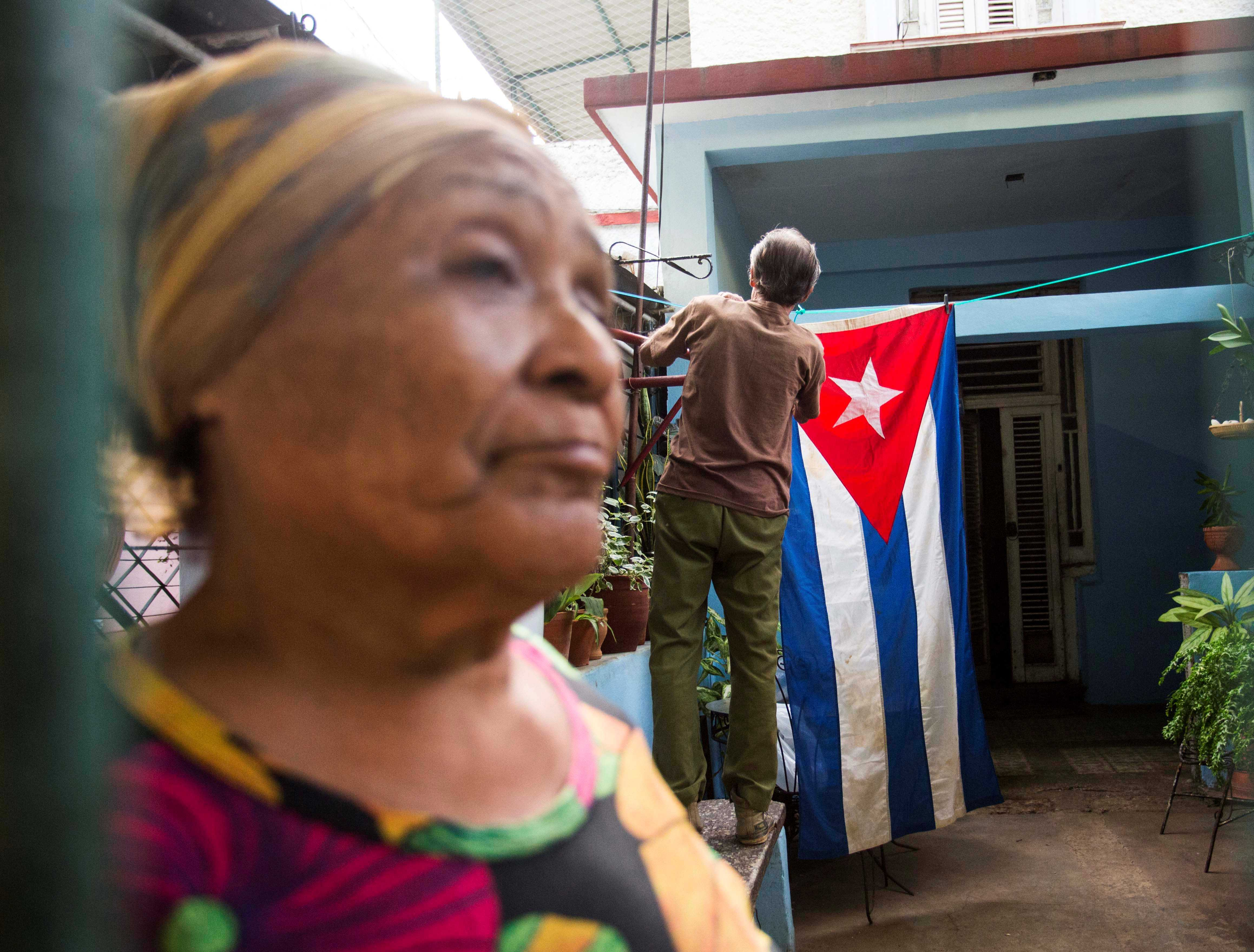 Local Cubans react to death of Fidel Castro