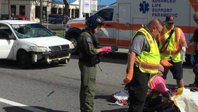 Vehicle vs Pedestrian in NSB
