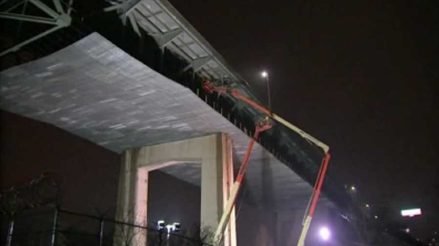 The PA-NJ turnpike bridge closed