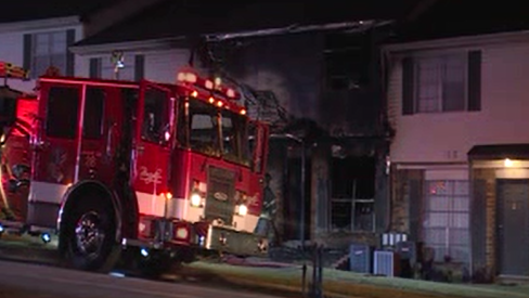 Firefighters were called to Devonshire Apartments early Thursday morning