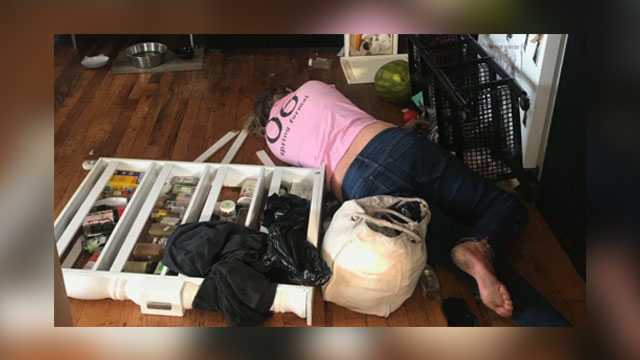 Cleaning lady gets trashed then trashes New York home, woman says