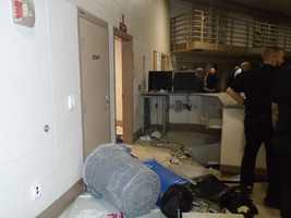 Prison riot aftermath