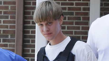 Dylann Roof in June 2016