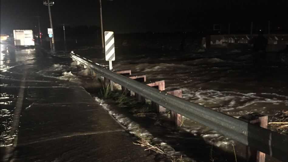 Residents describe 'crazy' flooding south of Elk Grove