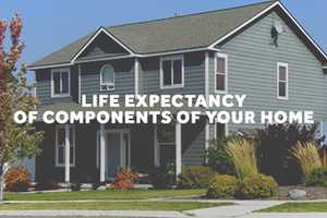 Life Expectancy Of Components Of Your Home