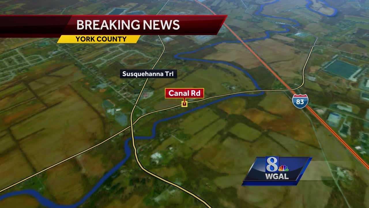 Fatal crash Conewago Township map