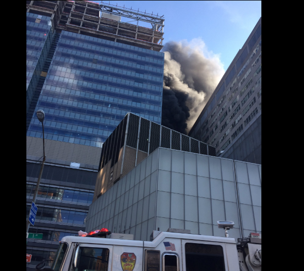 Fire, smoke breaks out at NYU medical center