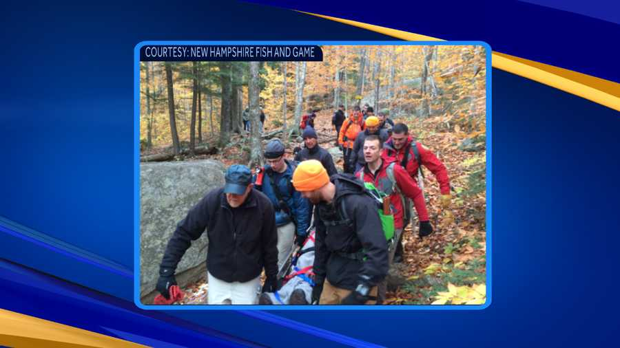 Fish And Game Rescues Two Hikers With Leg Injuries
