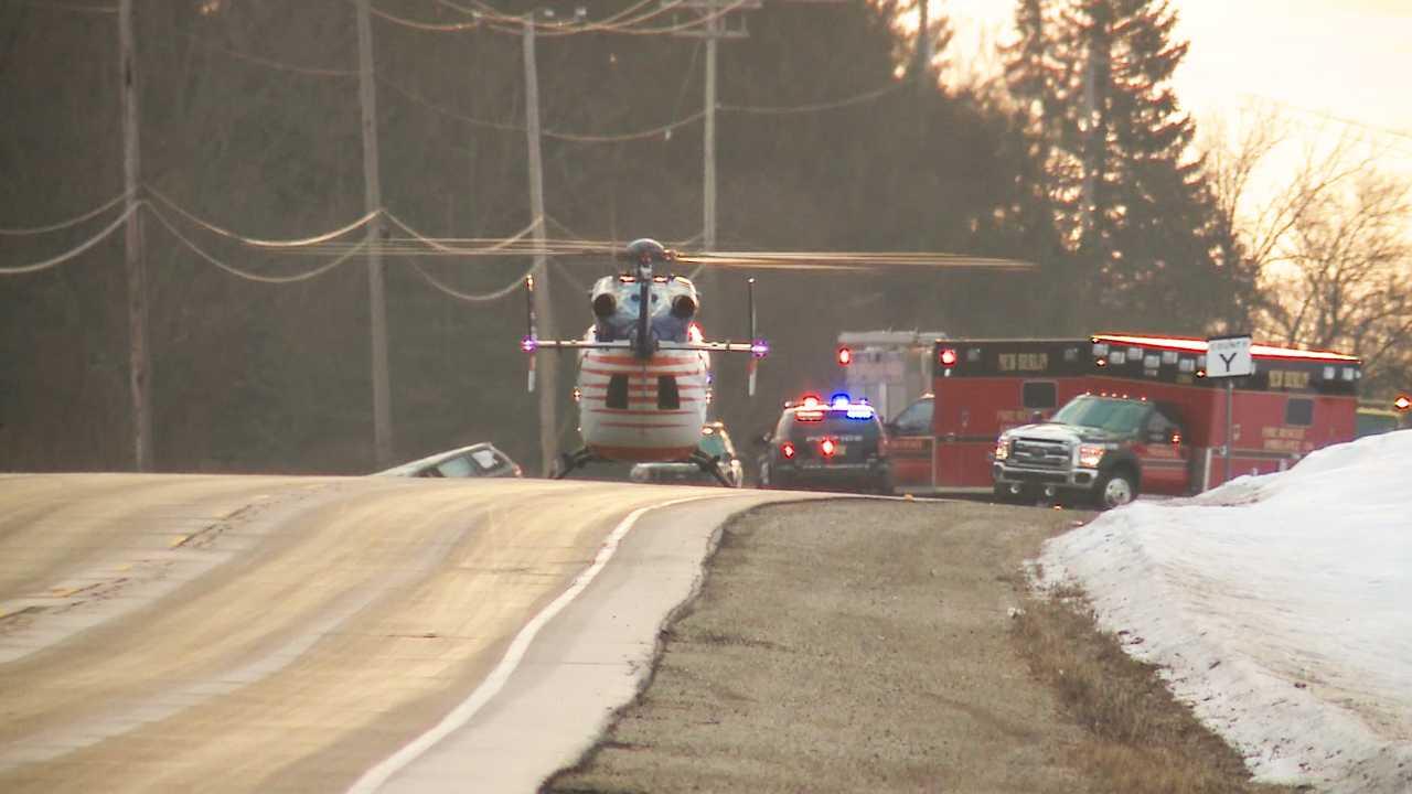Man dies days after head-on crash in rural Waukesha County