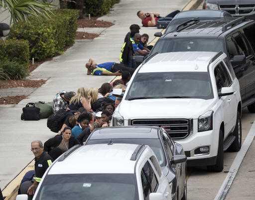 Florida airport shooting evacuations
