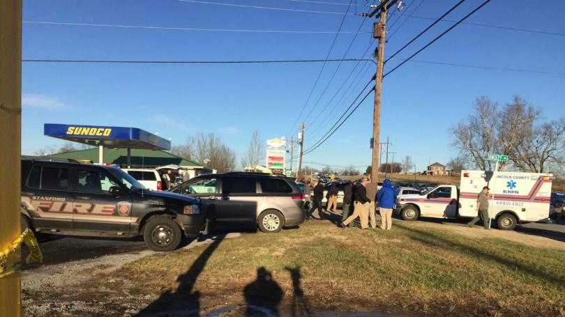 Lincoln County sheriff's deputy shot after chase in Garrard County