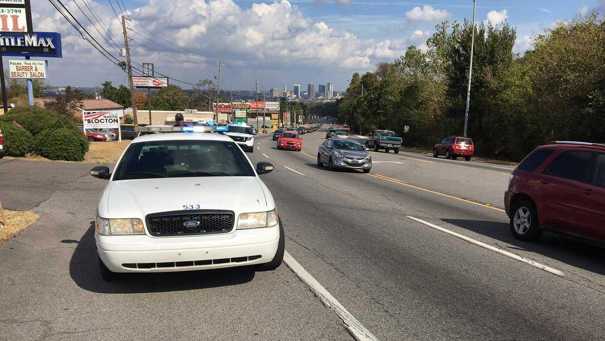 Pedestrian struck on Greensprings Highway