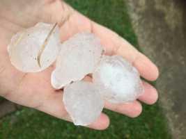 Hail in Kenner