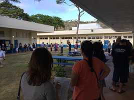 On Oahu, 18 out of 153 ballot scanners malfunctioned Tuesday morning as voters faced long lines at the polls.