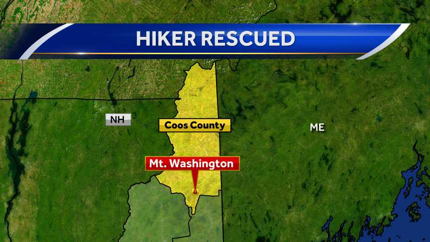 Massachusetts hiker dies in New Hampshire