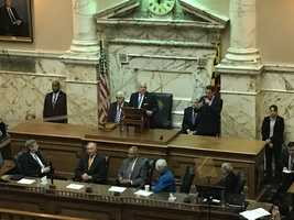 Gov. Larry Hogan delivers State of the State address