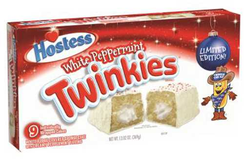 Hostess Brands issues voluntary recall of its holiday white peppermint Hostess Twinkies