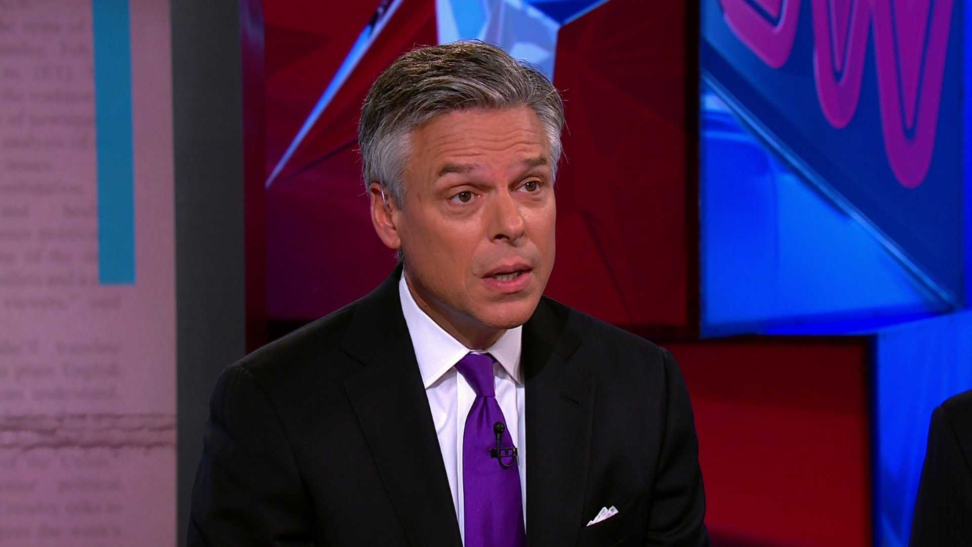 Huntsman accepts offer to be U.S.  ambassador to Russian Federation