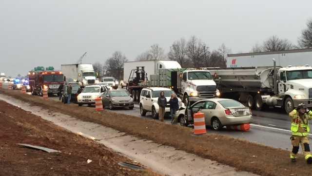 I-85 crash near mm 51