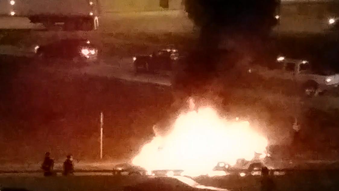 I-70 fire