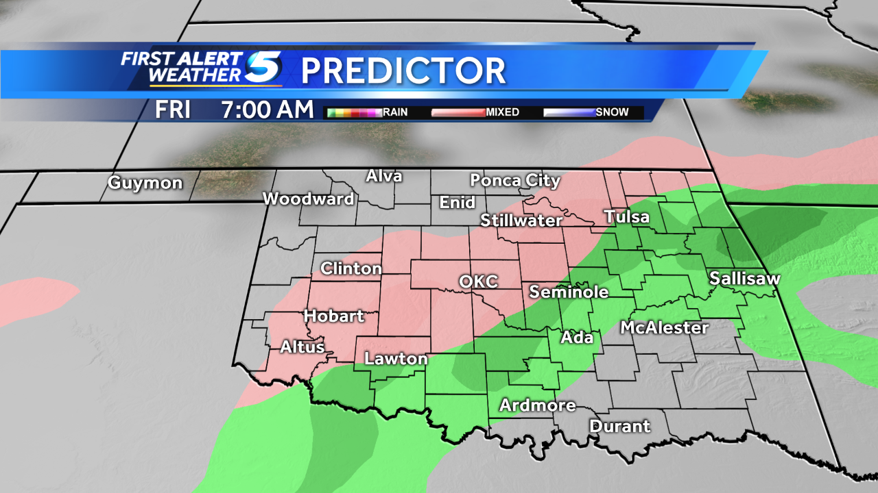 INDOT, DPW prepare for freezing rain throughout the weekend