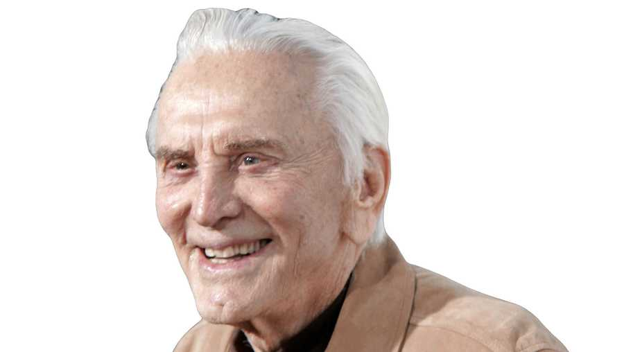 Kirk Douglas given early 100th birthday gift
