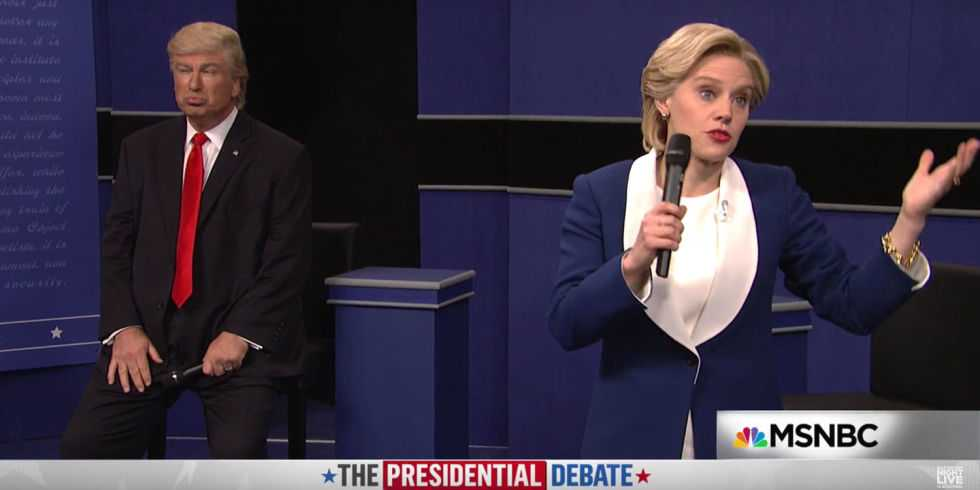 Trump Wants SNL to Be Canceled Because of This Debate Skit