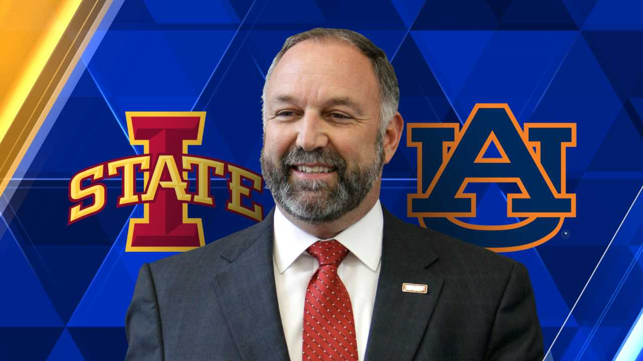 Auburn names Steven Leath new university president