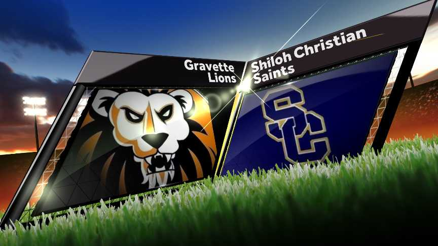 Gravette Lions vs. Shiloh Christian Saints