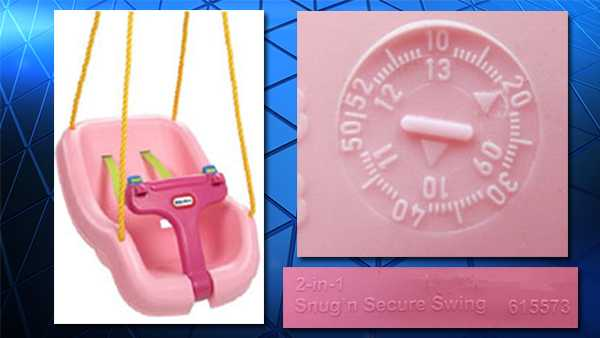 Children can fall from popular outdoor swing — RECALL ALERT