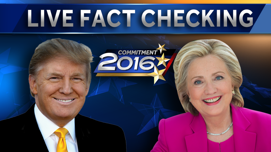Live Fact Checking Presidential Debate