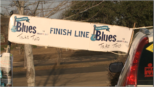 Runners lace up for 'Blues Take Two' Marathon​