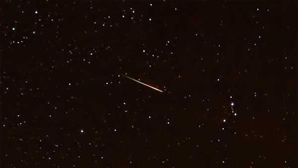 LOOK UP: Orionid meteor shower peaks tonight
