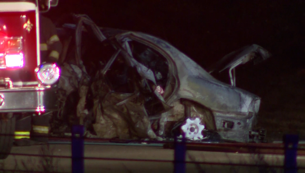 5 dead in wrong-way crash on MA highway