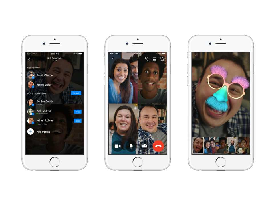 Facebook Messenger for desktop getting group voice, video calls