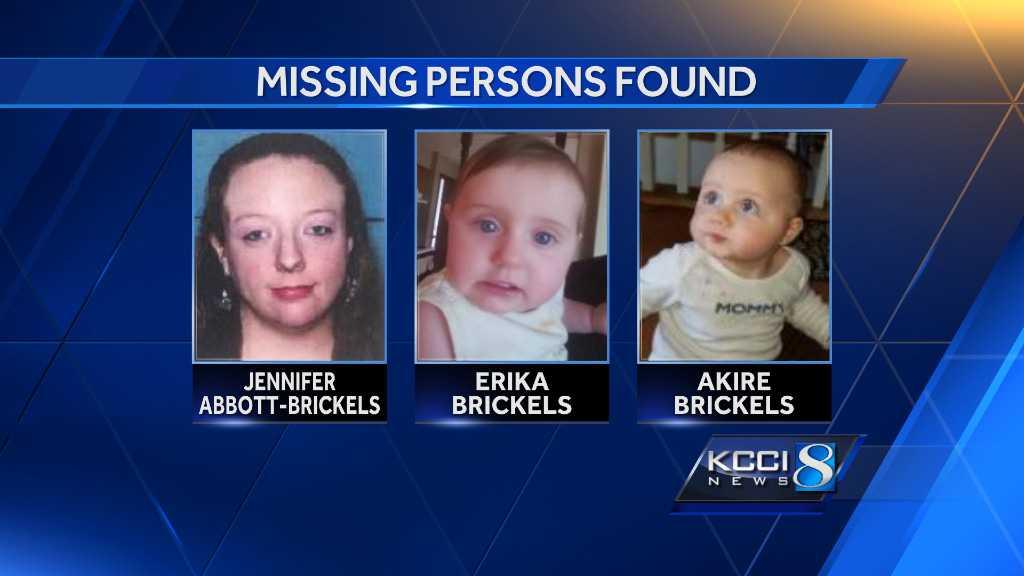 Missing mother, twin children found safe