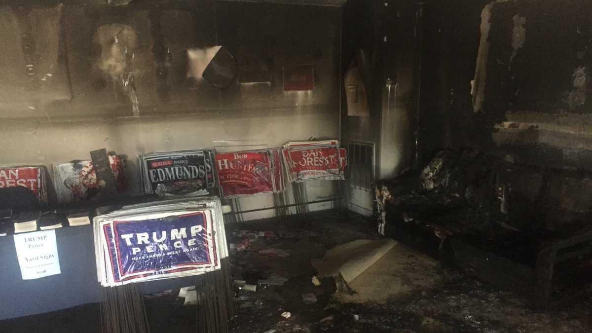 NC GOP vandalism