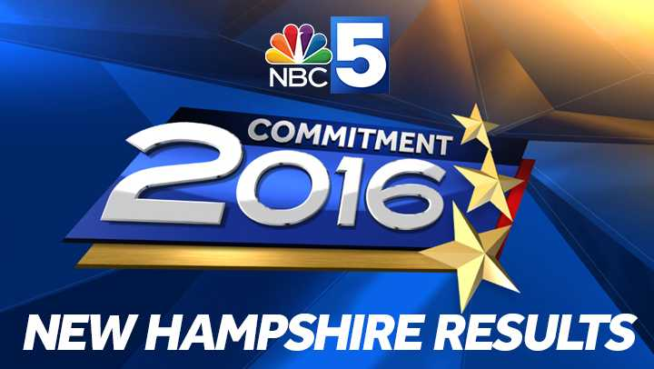 New Hampshire election results 2016