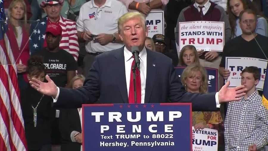 Donald Trump in Hershey