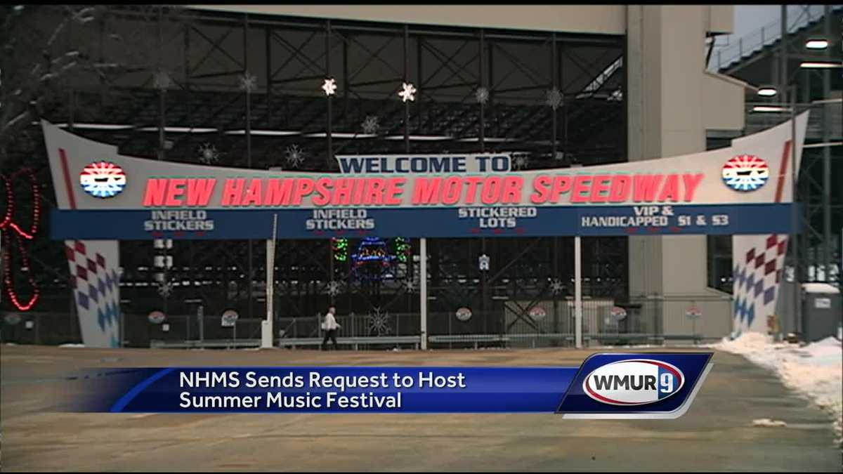 New Hampshire Motor Speedway Submits Proposal For Music