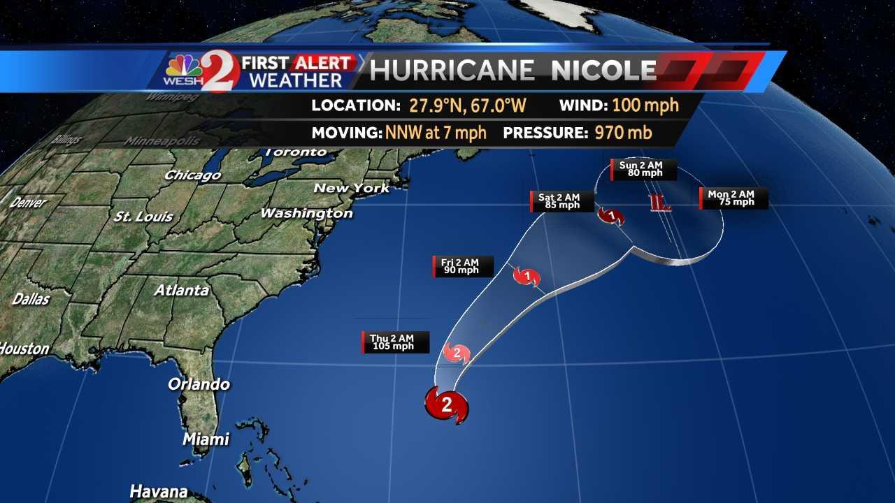 Hurricane Nicole 10/12/16 5a