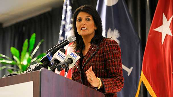 Senate confirms Nikki Haley
