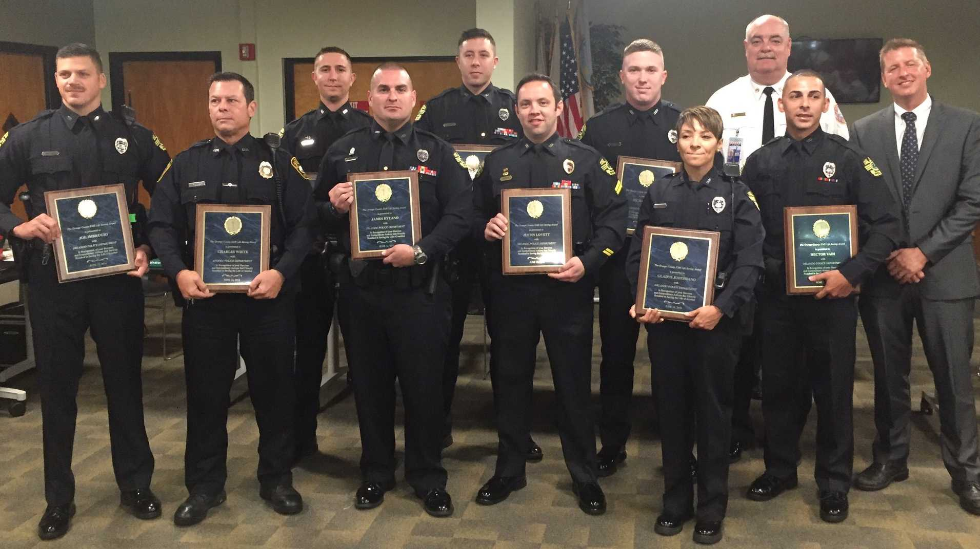 OPD officers honored