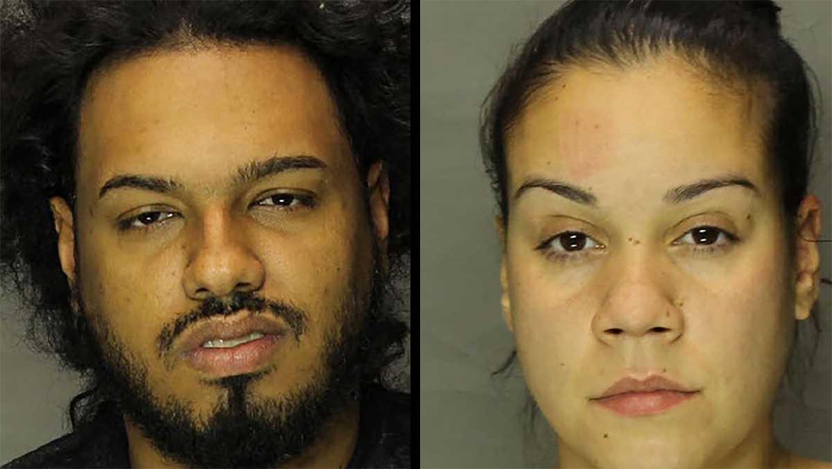 Michael Persaud and Tiffany Irizarry Lebanon heroin arrest
